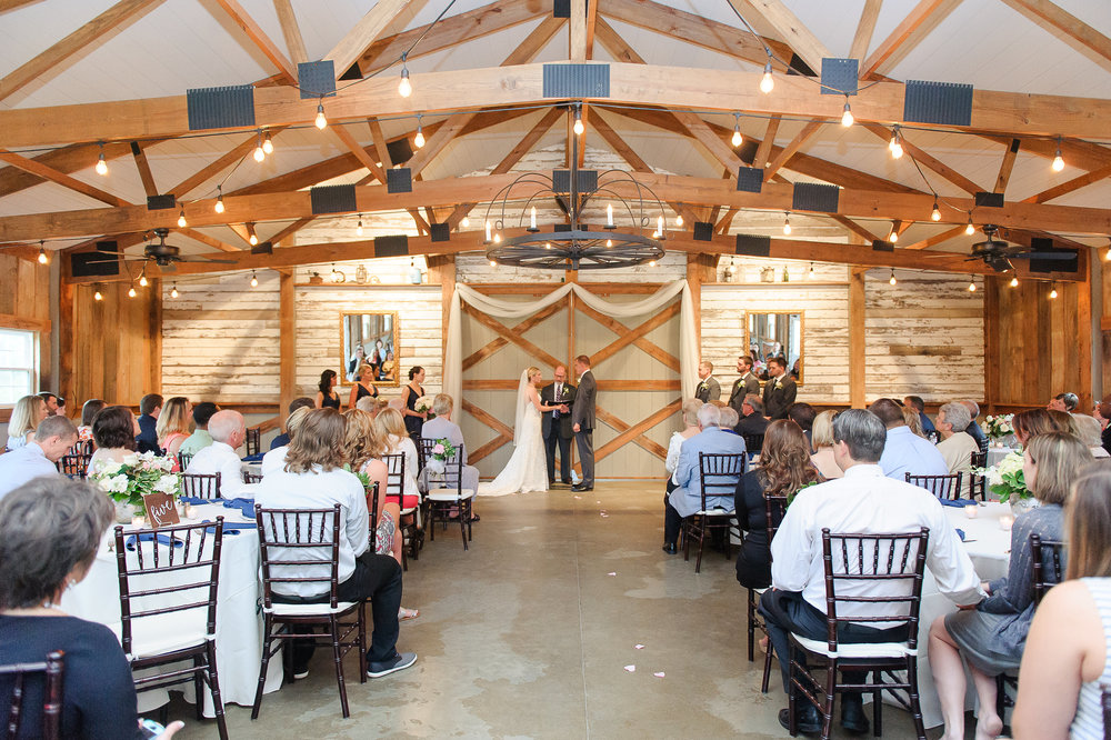 Wedding Ceremony in the Barn