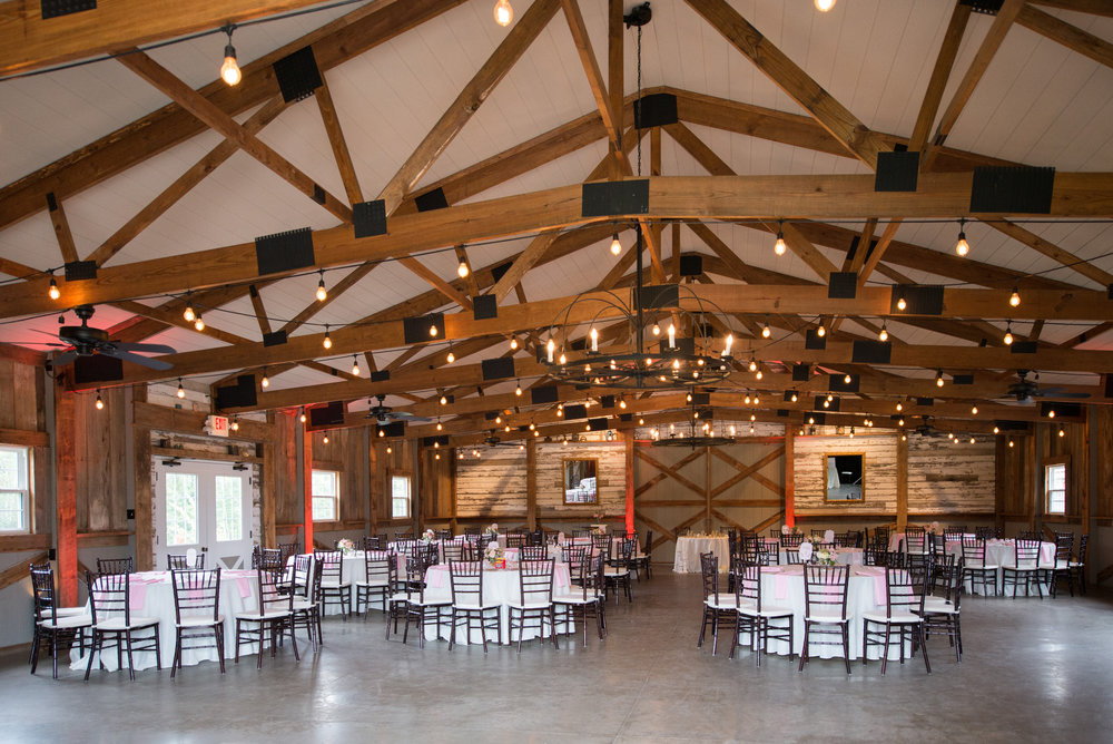 The Barn is Wedding Ready