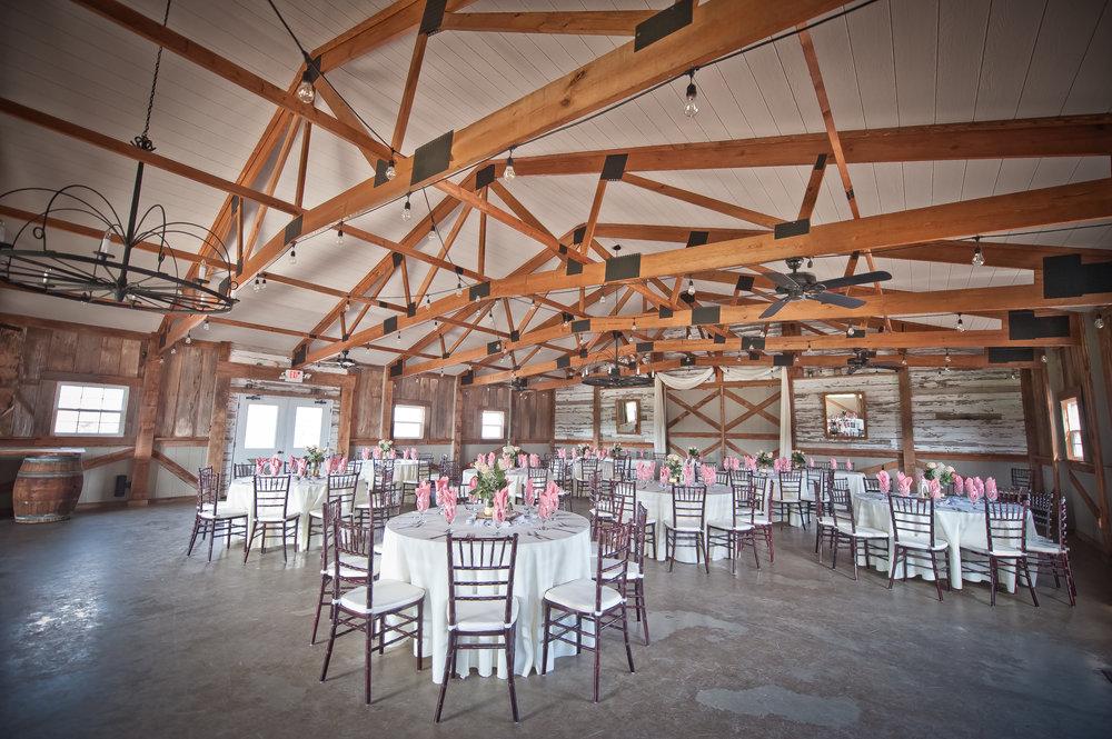 Wedding Reception in the Barn