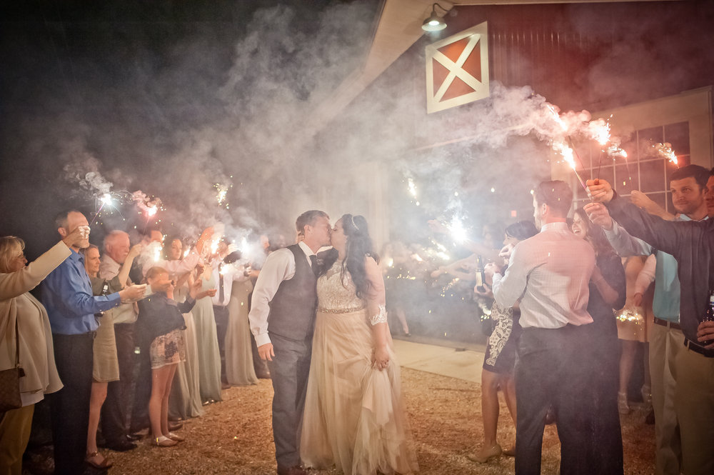 Sparkler Exit and Kiss.JPG
