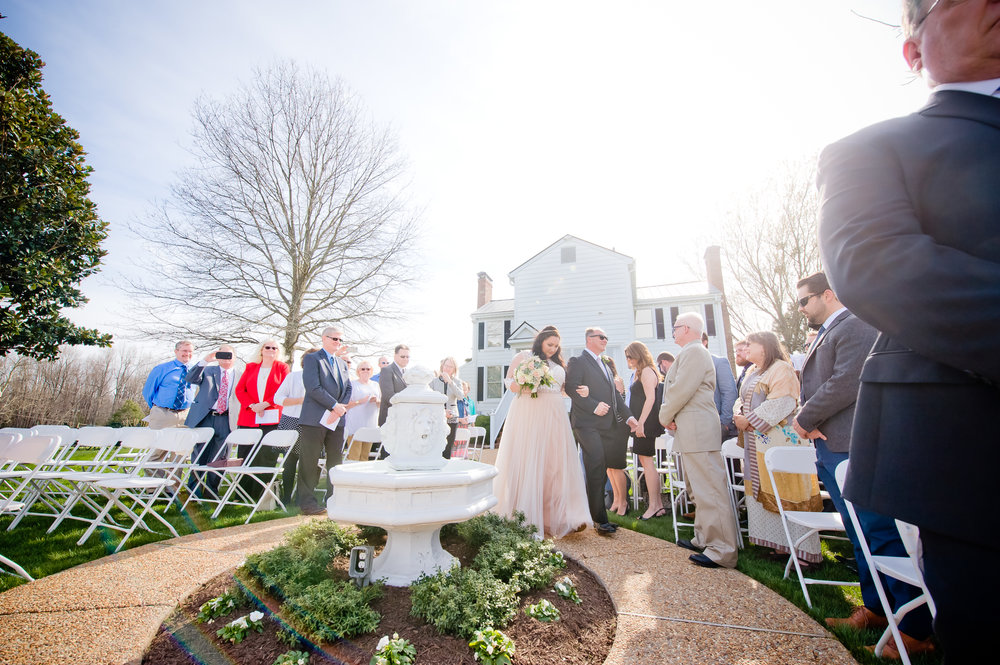 Ceremony at the Estate