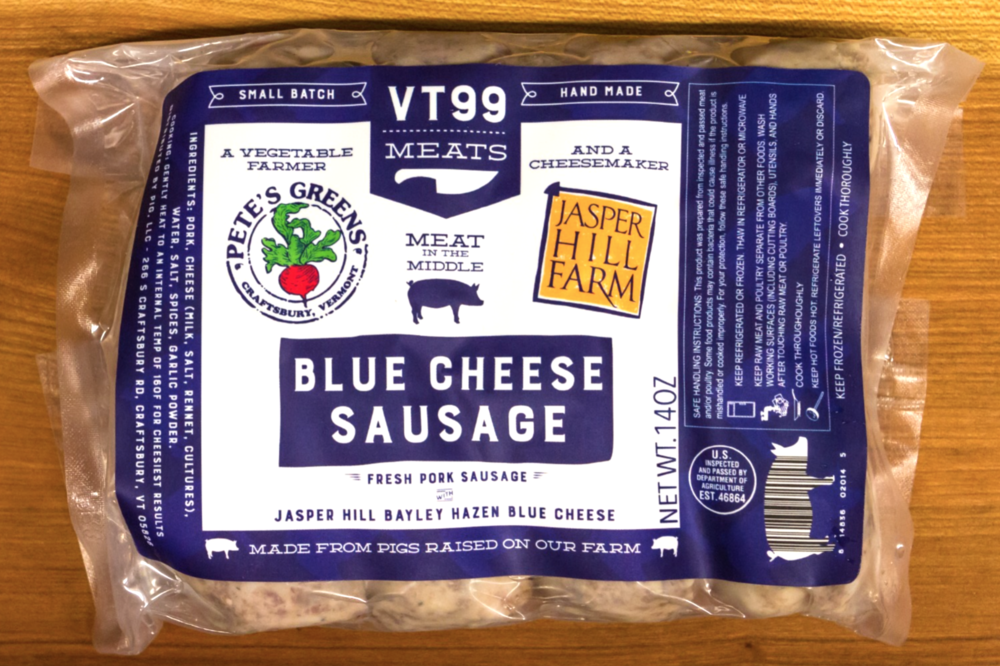Blue Cheese Sausage