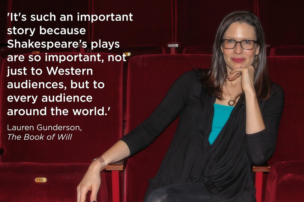 Lauren Gunderson, speaking truth.
