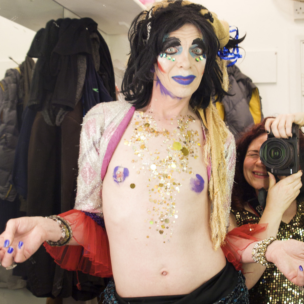 I wrote a piece for Run Riot.   Parallel Universe: Holly Revell on Photographing and Collaborating with David Hoyle