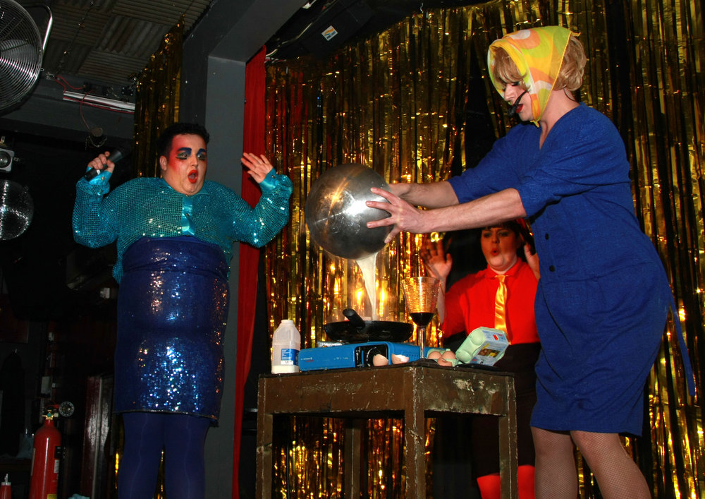 Scottee and Russella - Hamburger Queen - RVT - 2012