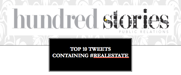 top 10 real estate tweets