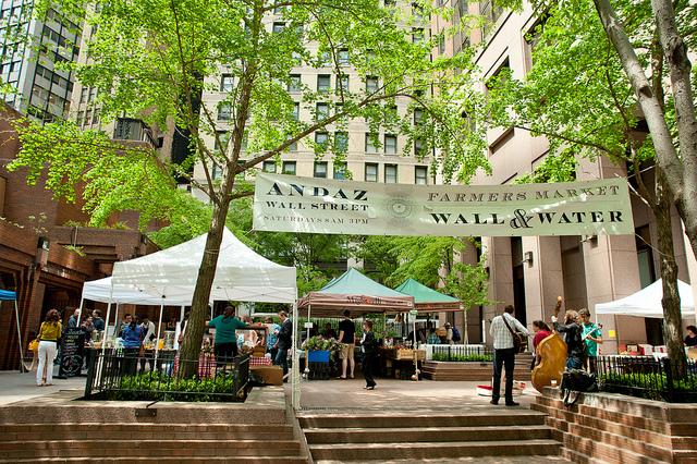 Andaz Wall Street Farmer's Market