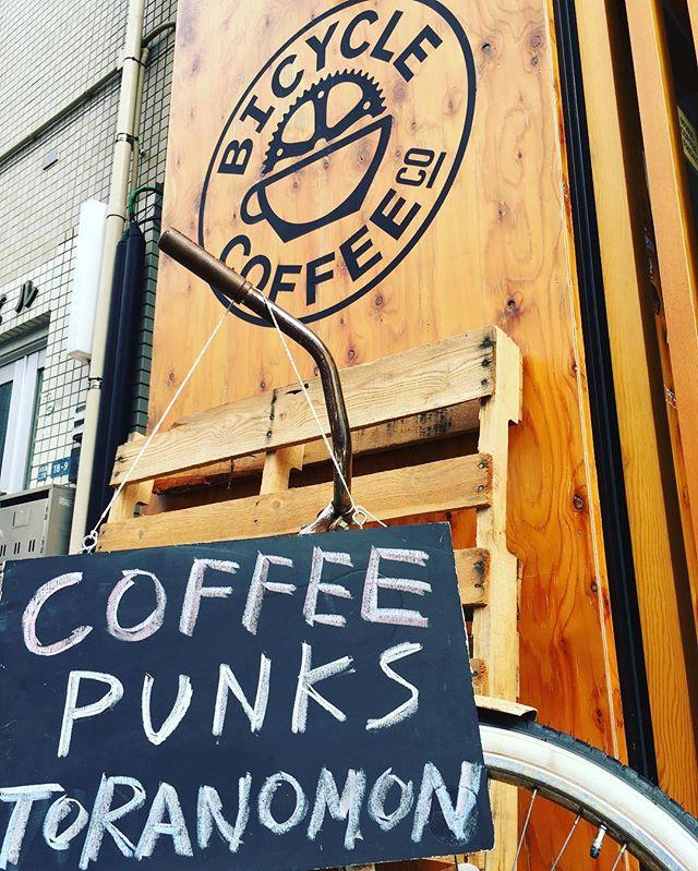 週のまんなか水曜日、コーヒーで一息しましょう!! #bicyclecoffeetokyo  #bicyclecoffee