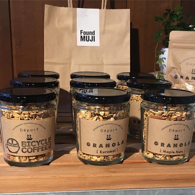 Found MUJIにて絶賛販売中!もちろん虎ノ門でも売っています。  #bicyclecoffeegranola #bicyclecoffeetokyo #bicyclecoffee #depart #granola #muji #青山 #グラノーラ #オーガニック #organic #nonsugar #nonoil #glutenfree #無印 #無印良品