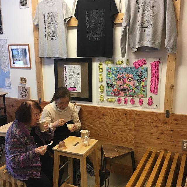 . お誕生日会開催中🎂🎉 #happybirthday #bicyclecoffeetokyo #bicyclecoffee #toranomon #local #birthday #誕生日 #おめでとう