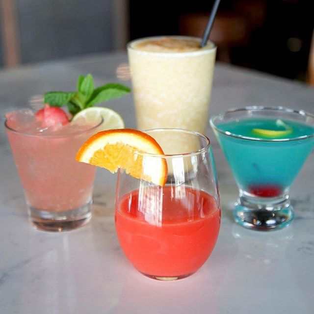 Happy Sunday - today calls for #bloodorange #mimosas and #frozen #painkillers and #watermelon #cocktails #spring #stl #sundaybrunch #hamburgerandeggs #stl #nashville #stlfoodie