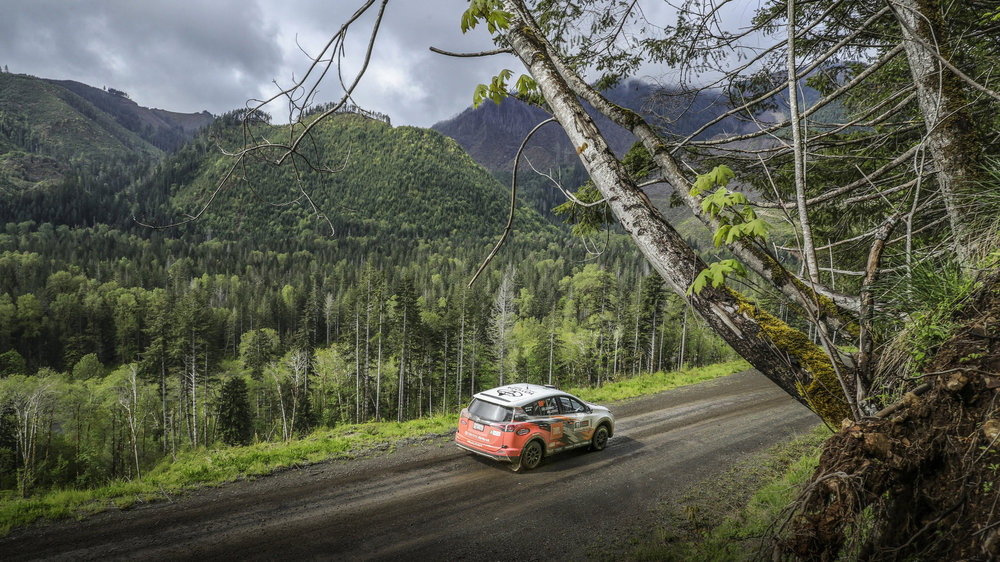 Toyota Racing - Derek joins the Toyota Racing Rally team for the 2016-17 racing season.