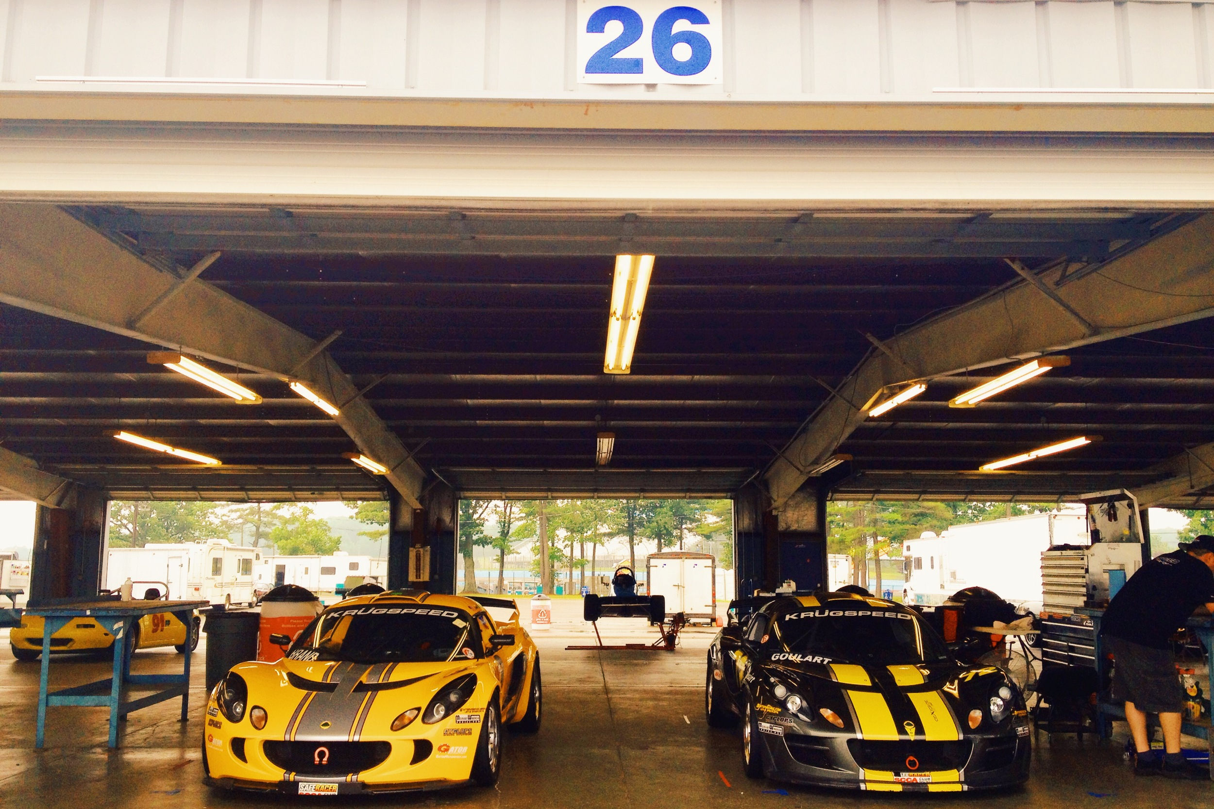 Lotus Exige racing