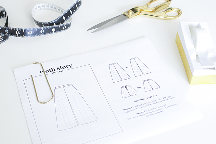 HOW TO DOWNLOAD, PRINT AND ASSEMBLE PDF SEWING PATTERNS - www.CLOTHSTORY.COM