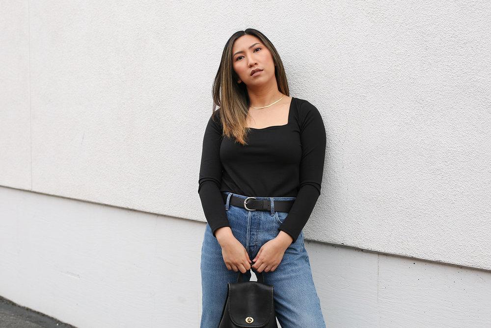HOW TO MAKE A SQUARE NECK TOP | clothstory.com