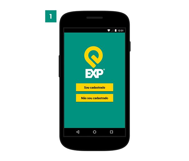 - 1. Bem-vindo ao Aplicativo EXP Parking para smartphones com o sistema Android e iOS.Faça o seu login ou cadastre-se para usar o aplicativo.