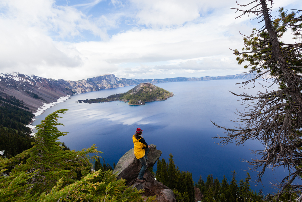 Crater Lake National Park, Oregon. Credit: Andy Isaacson