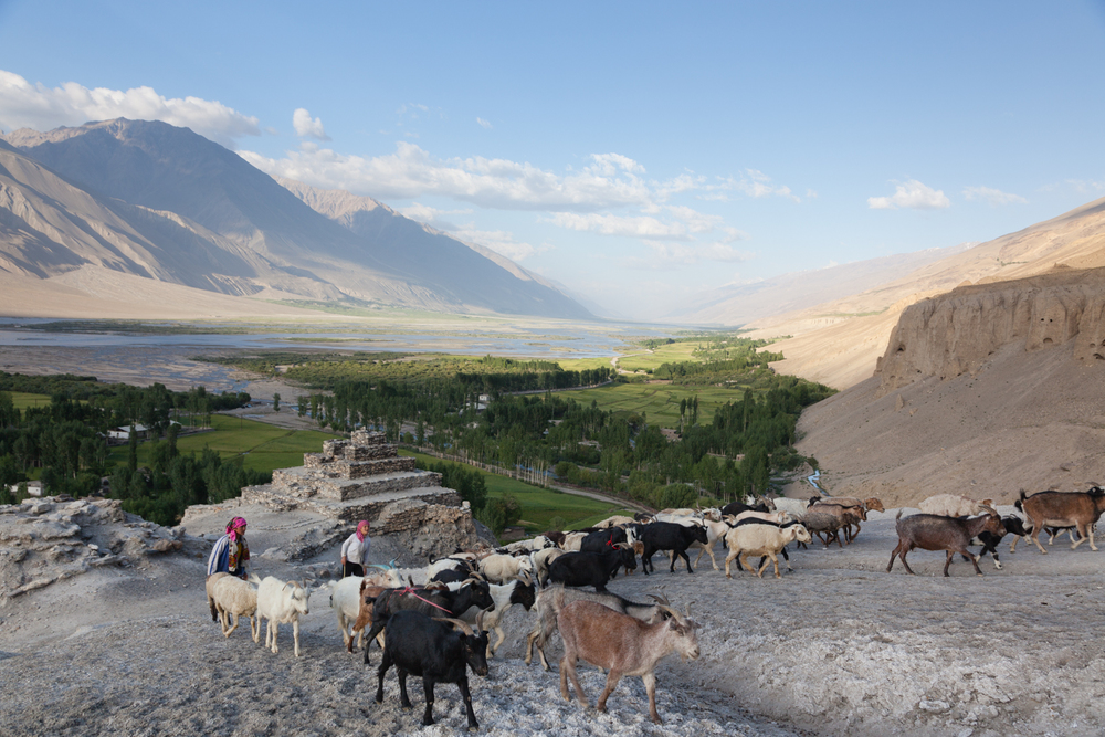 The Wakhan Valley. Credit: Andy Isaacson