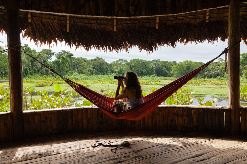 Kapawi Lodge, Ecuador. Credit: Andy Isaacson