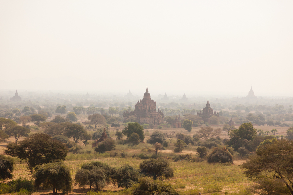 The ancient city of Bagan, Myanmar. Credit: Andy Isaacson