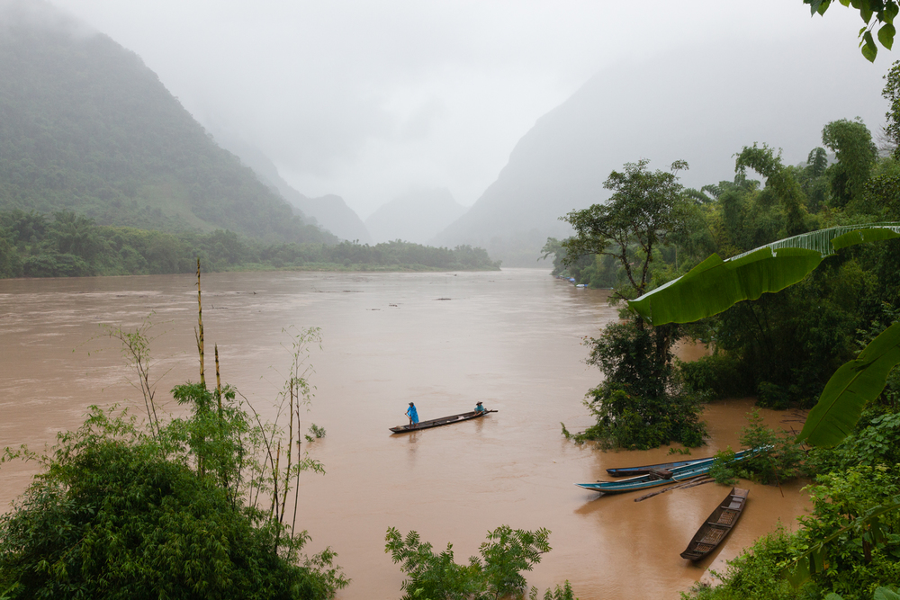 Nam Ou River. Credit: Andy Isaacson