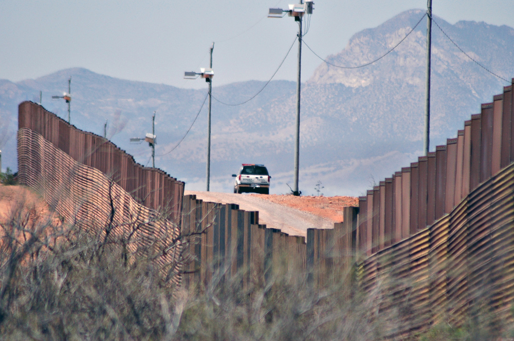 U.S.-Mexico border fence. Credit: Andy Isaacson