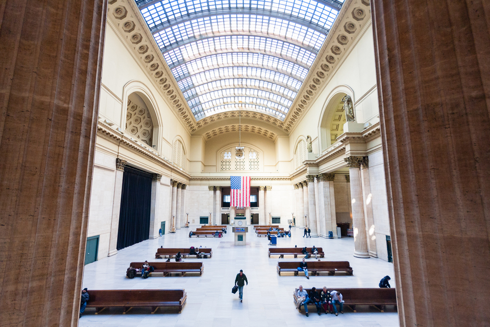 Chicago's Union Station. Credit: Andy Isaacson