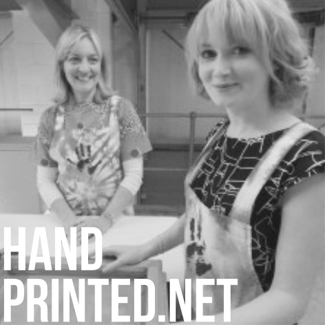 The lovely Shirley and Holly at Handprinted are founts of knowledge and hook us up with all our printing gear. They also regularly run cool creative workshops in their studio, check them out  HERE , they can turn you into a creative genius!