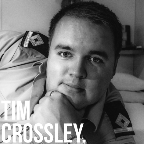 Very able seaman. Mr Crossley is an engineer on very big boats and travels round the world in a very sweaty box where he occasionally gets onto land to take some snaps. He's helped us with many a photo so take a look at his stuff  HERE .