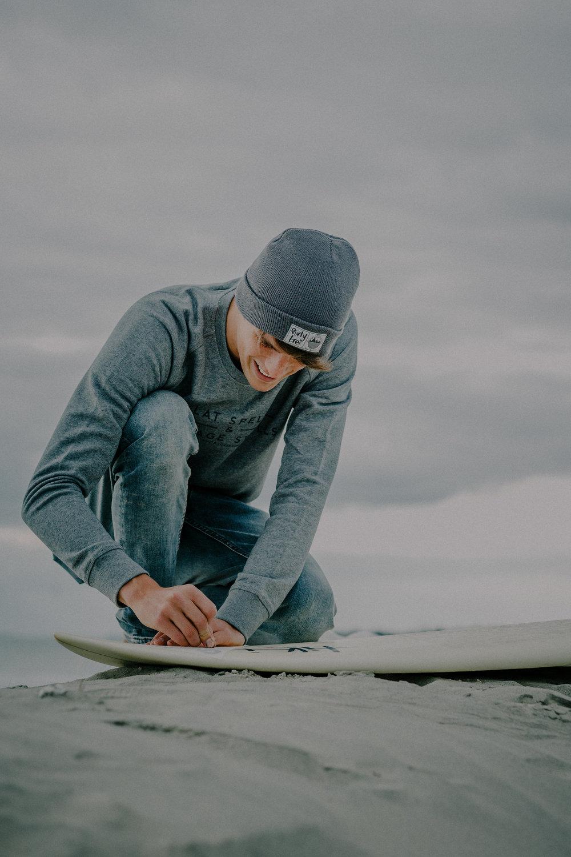West Wittering Beach Surfer