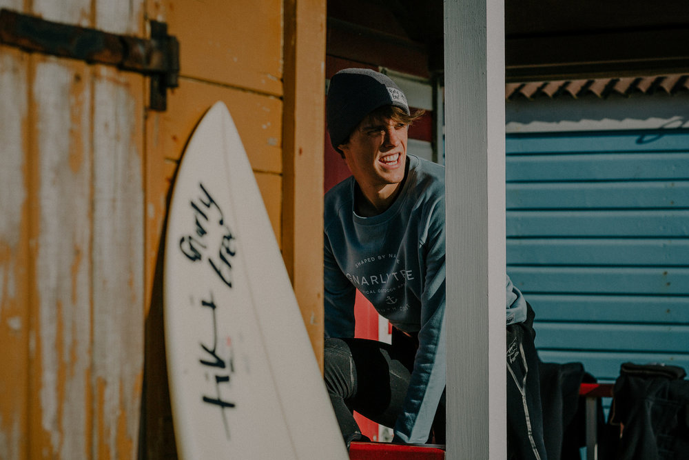 Surfer West Wittering Beach