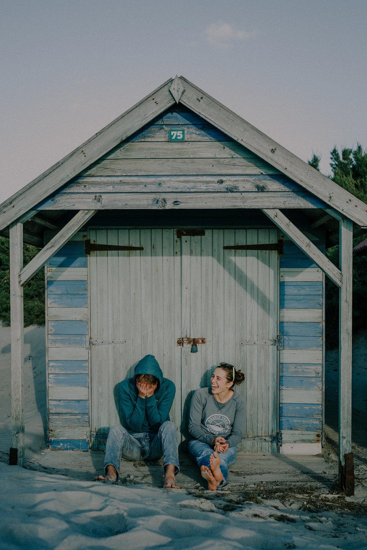 West Wittering beach hut