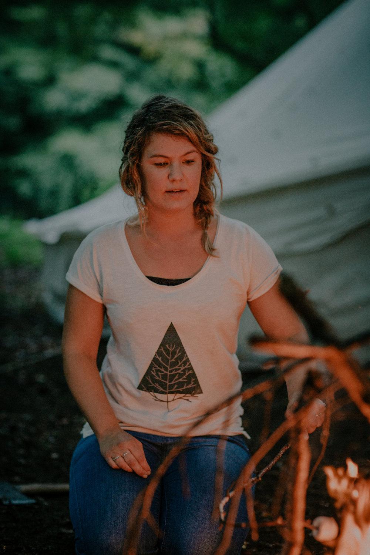 Triangle Tree t shirt