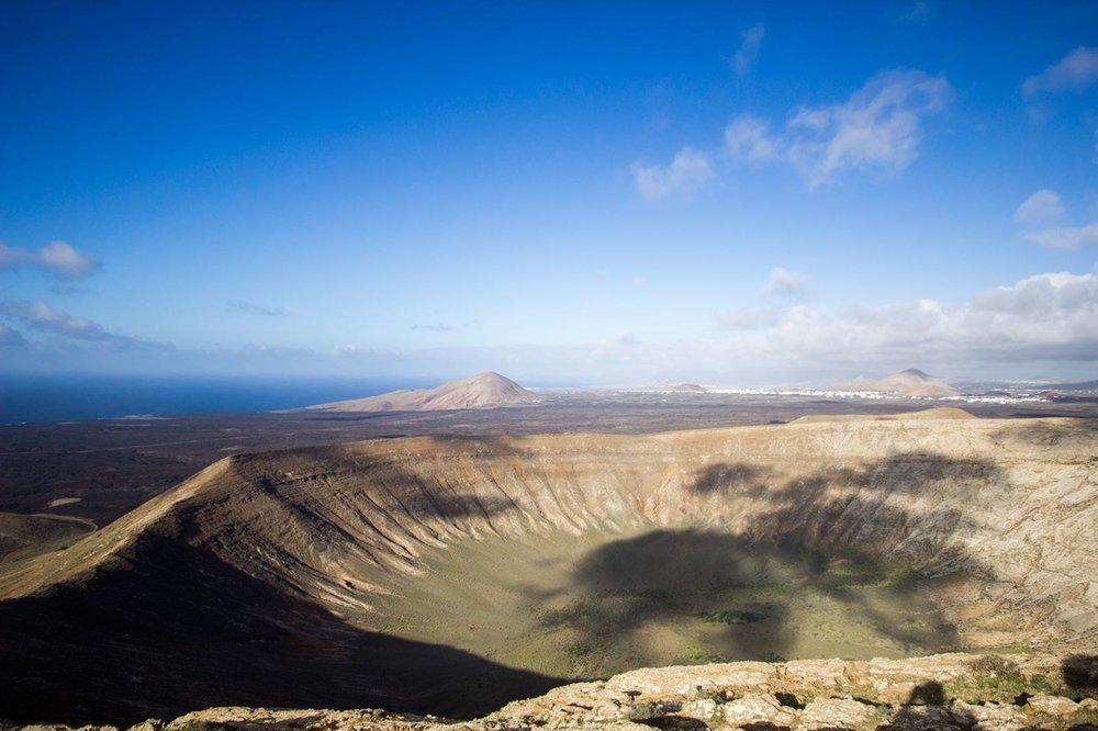 Caldera Blanca Volcano, Lanzarote