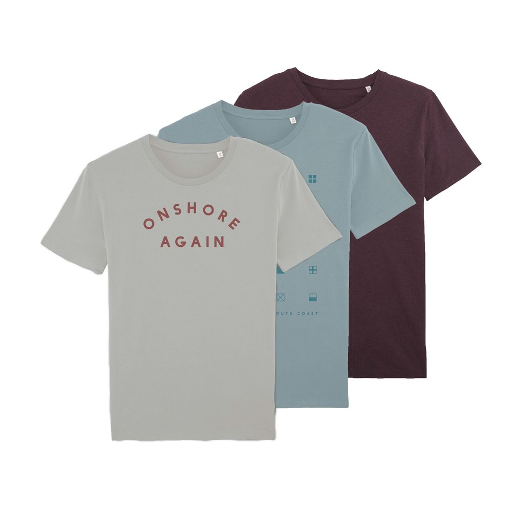 100% Organic cotton t shirts - The softest tees in town.
