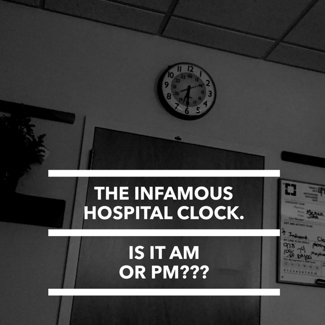 Tick, Tock. Am I crazy, doc?!