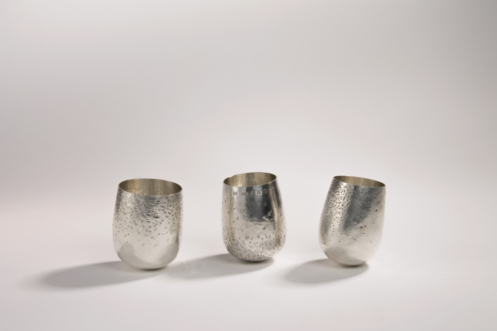 Sterling Silver Whisky Tumblers