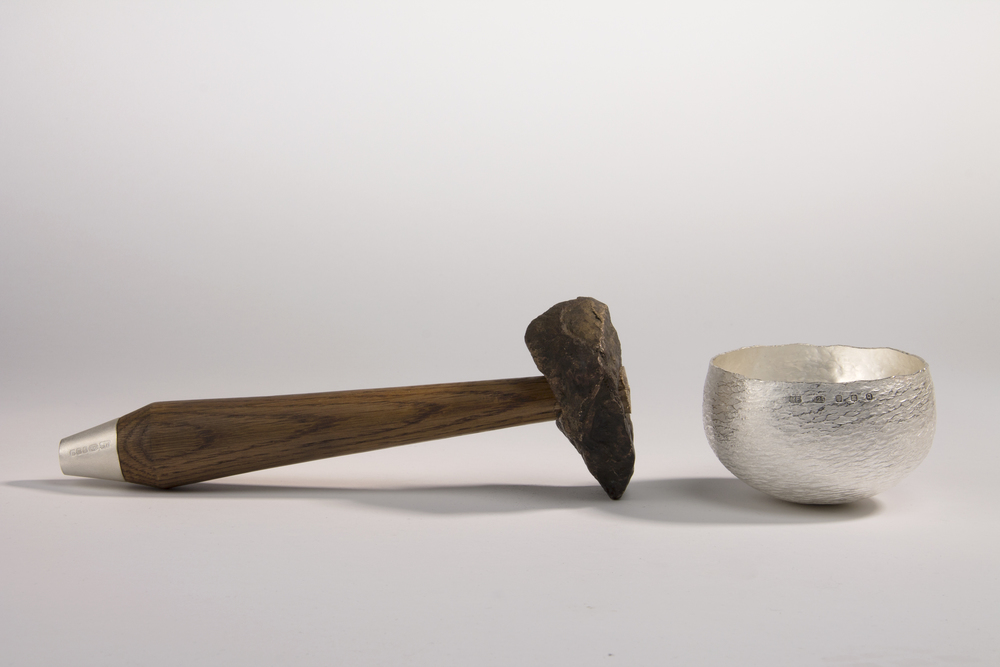 Raising Hammer and Vessel