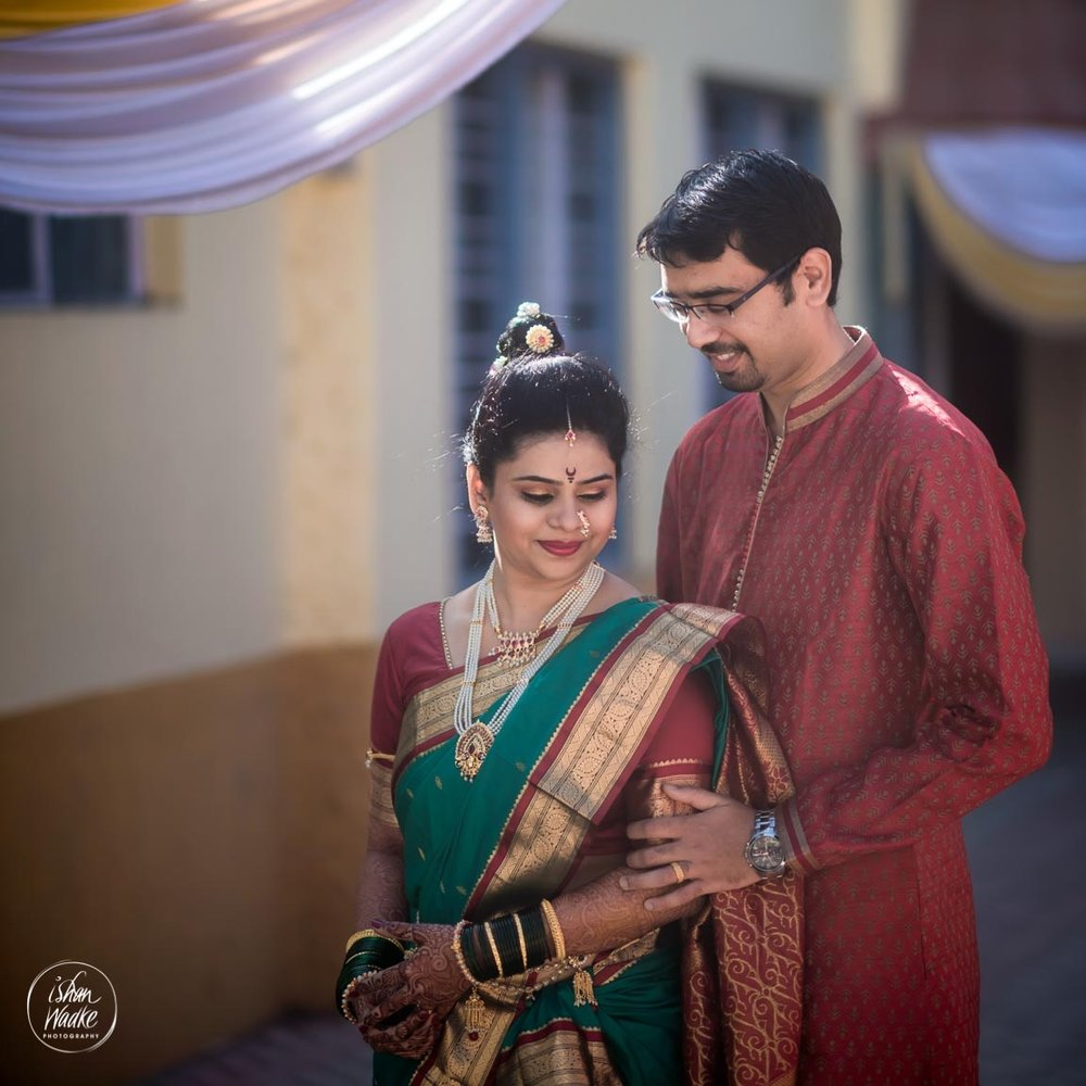 Supriya & Tanmay - The real talent of Ishan and his team is capturing the 'moments' & making them more beautiful. The services provided by his team right from preliminary discussions, dressing & drapery suggestions, posing tips up-to the final wedding album - the entire package went smoothly.They had a tough task of capturing our wedding moments as we both are camera shy. But Ishan's jolly personality made us comfortable & at ease. Our photos came out too wonderful to be true! The USP he has is that he lets you do your things & yet manages to take beautiful photographs.He has an amazing eye for capturing the candid moments at the right time. Our Candid shots turned out really amazing and very much complimented by friends & family. We are absolutely thrilled with the results, which we will cherish for a lifetime!