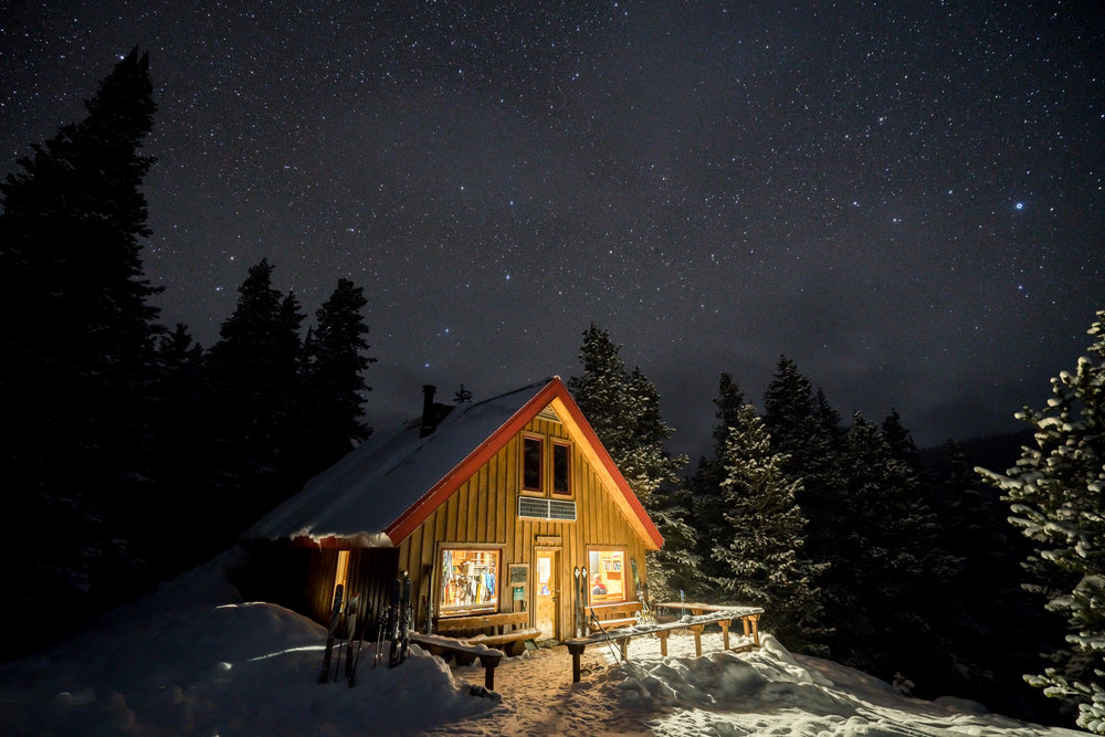 McNamara Hut at Night