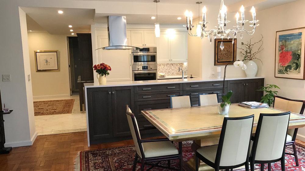 Manhattan Kitchen With A View
