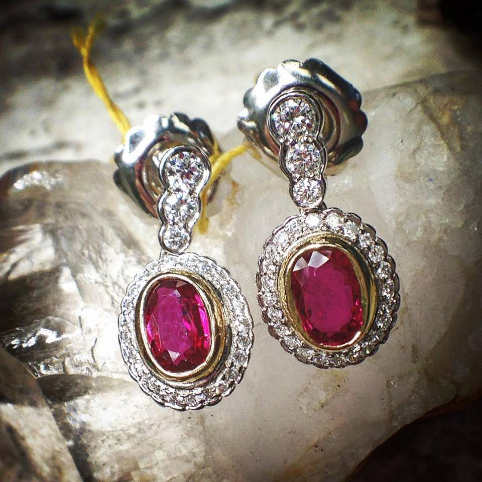 JP-Haase-Jewlers-Earrings-Ruby-Fashion-Custom-Made-Milwaukee-Wisconsin