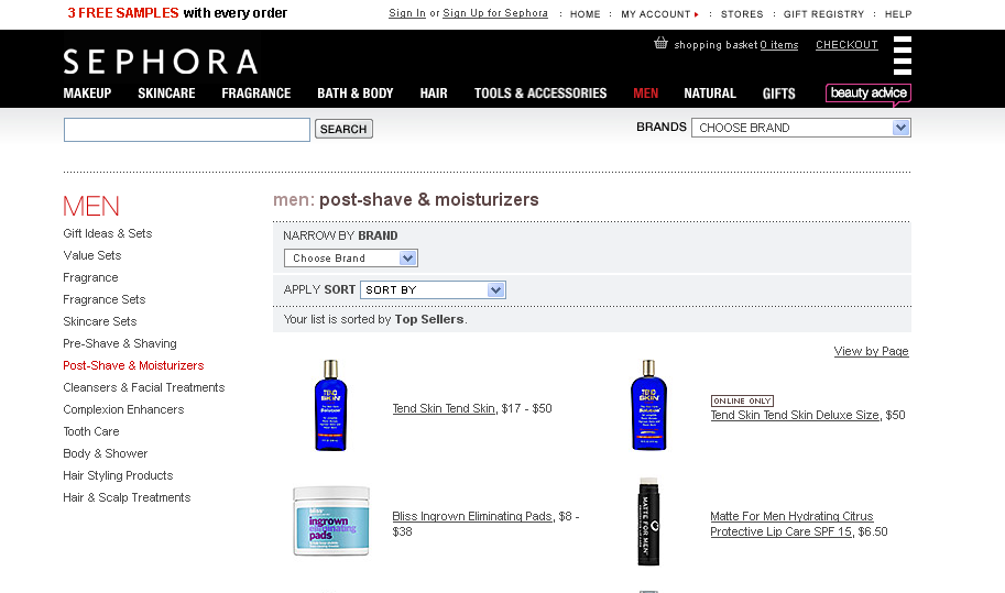"Matte For Men Hydrating Lip Balm becomes a ""Top Seller"" at Sephora"