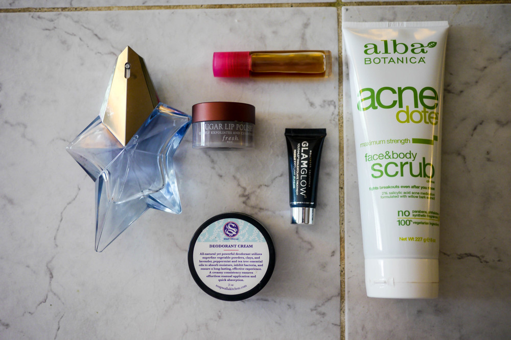 Katie's favorite beauty products.