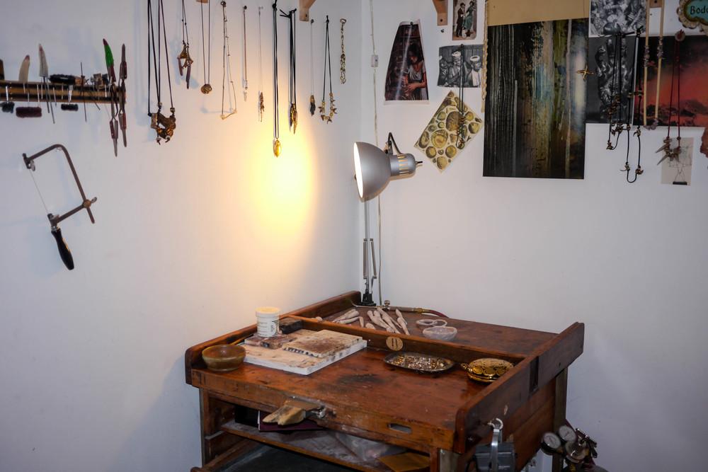 Dana's studio