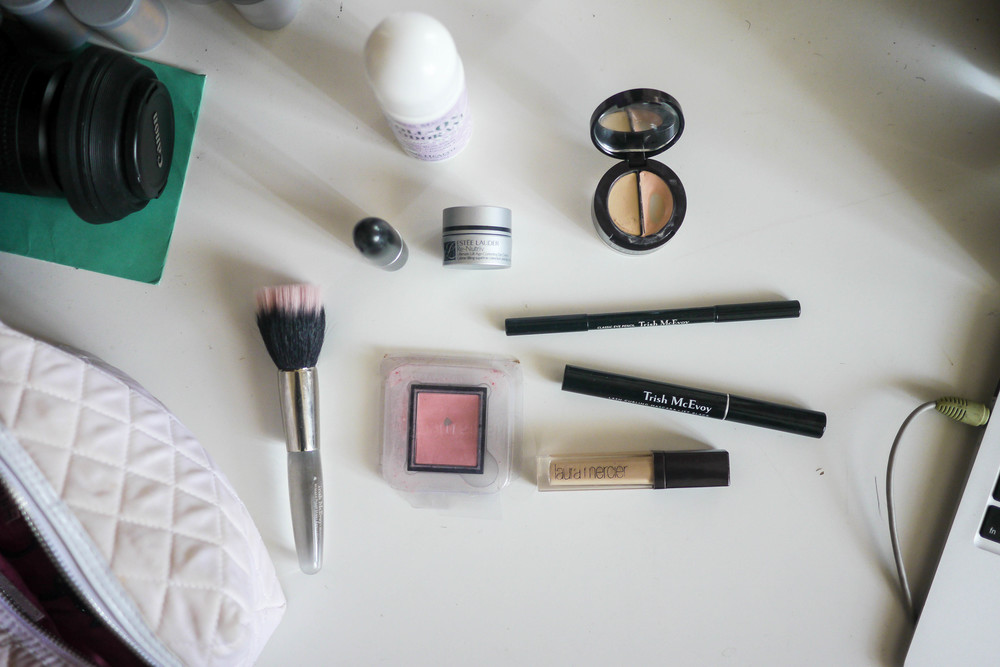 Anahita's makeup routine