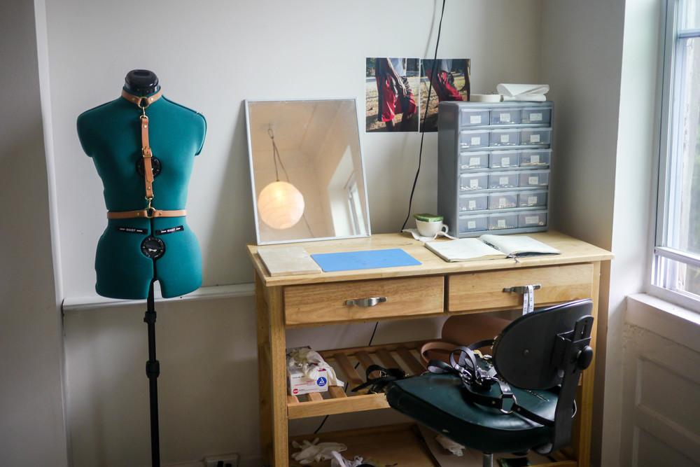 Mira's studio