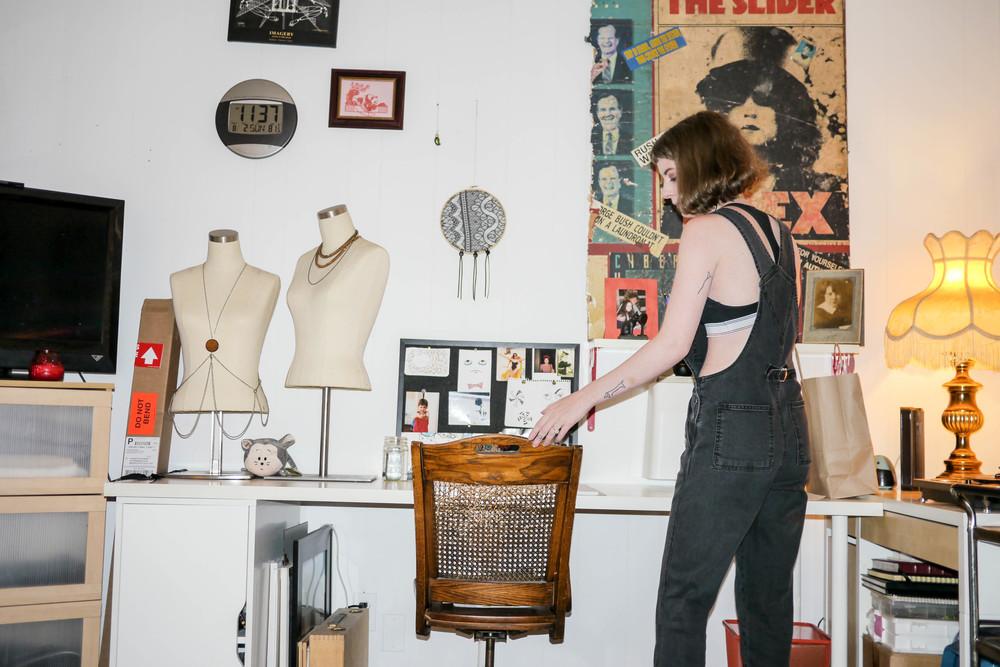Charlotte's studio