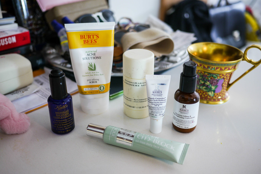 Tea's favorite skincare products