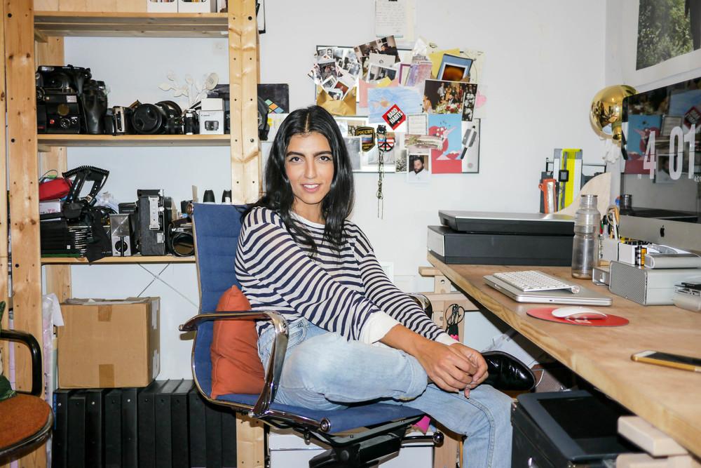 Top, Alexander Wang ; Jeans, Courtshop